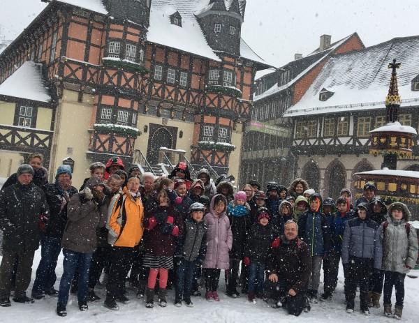 Jung und Alt gemeinsam auf Erlebnis-Freizeit im Harz v. 29. März - 02. April 2020