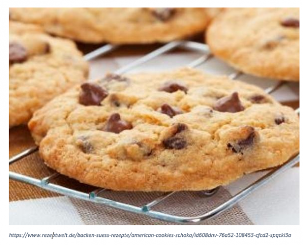 American Cookies backen I