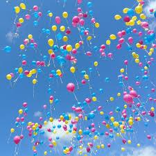 Luftballonwettbewerb beim SV Holtland e.V. am 14. Juli