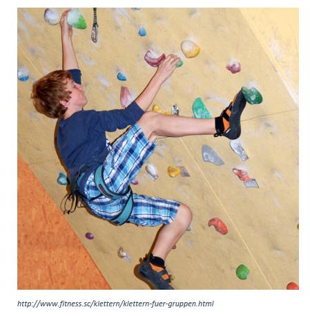 Indoor-Klettern (Gruppe 5)