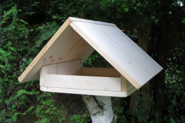 30.07.2021 Vogelhäuser bauen