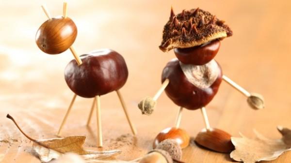 Herbstbasteleien für Kinder